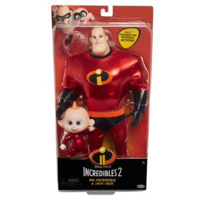 Mr Incredible and Jack-Jack 11'' Action Figure Set