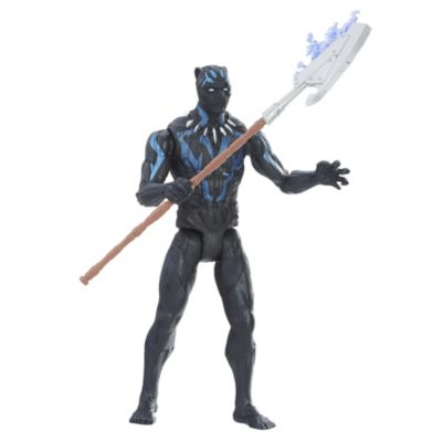 Mini figurine de Black Panther en costume de vibranium15cm