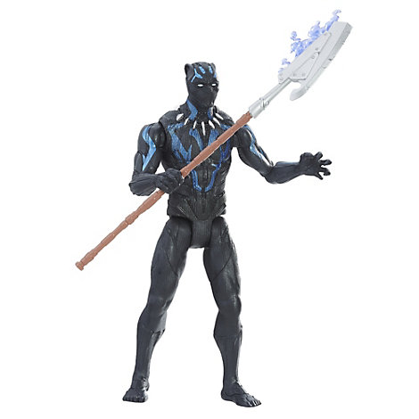 Black Panther - 15cm Minifigur von Black Panther im Vibranium-Anzug