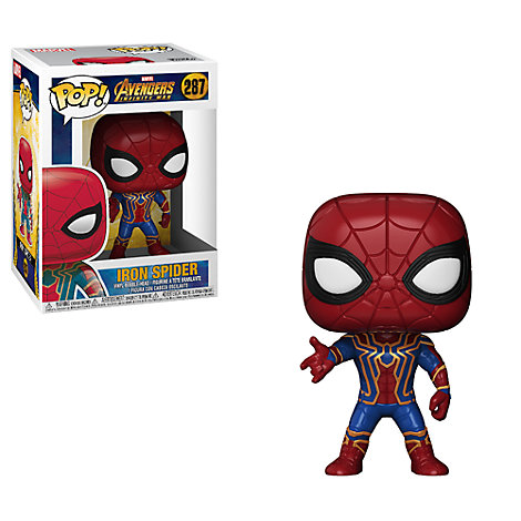 Personaggio in vinile serie Pop! di Funko, Iron Spider