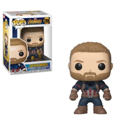 Captain America Pop! Vinyl Figure by Funko