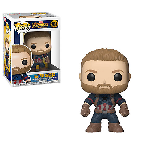 Personaggio in vinile serie Pop! di Funko, Capitan America