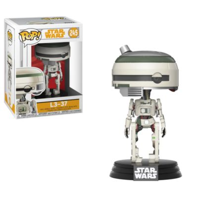 Personaggio in vinile serie Pop! di Funko, L3-37
