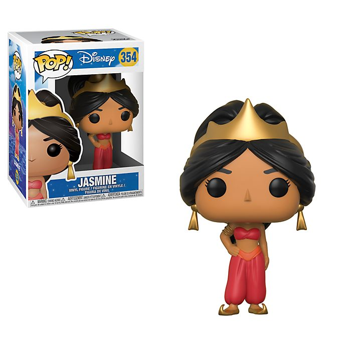 Figura Pop! vinilo Princesa Jasmine traje rojo, Funko