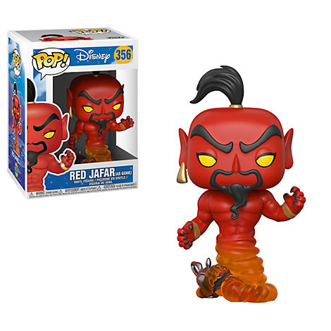 Jafar Red Pop! Vinyl Figure by Funko, Aladdin