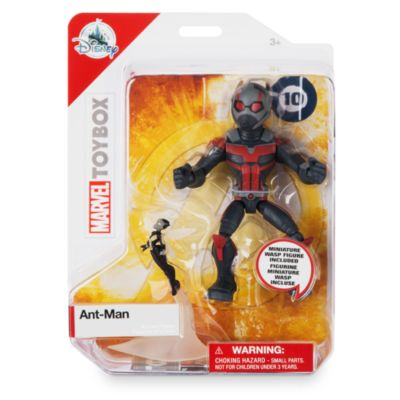 Figurine Ant-Man articulée, collection Marvel Toybox, Disney Store