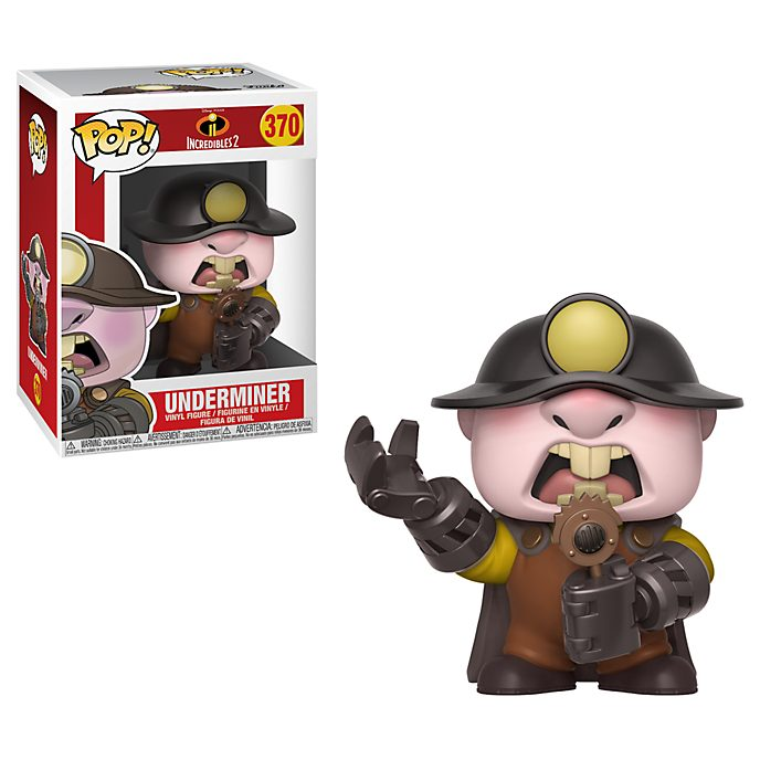 Funko Underminer Pop! Vinyl Figure, Incredibles 2