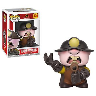 Funko - Underminer - Pop! Vinylfigur - Die Unglaublichen 2 - The Incredibles 2