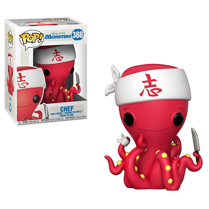 Funko portachiavi in vinile Chef serie Pop! Monsters & Co.