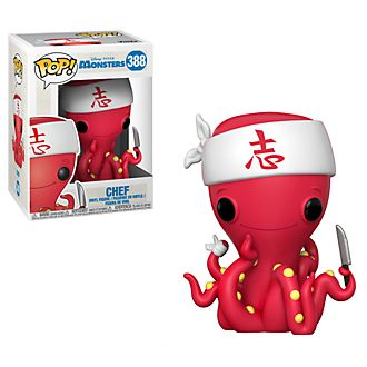 Funko portachiavi in vinile Chef serie Pop! Monsters & Co.