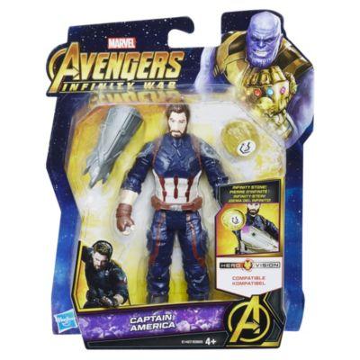 Muñeco acción Capitán América (15cm)