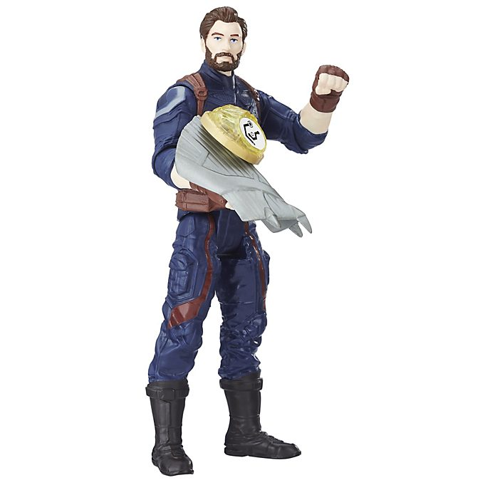 Figurine articulée Captain America 15cm