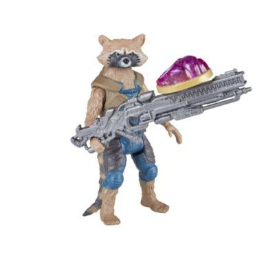 Figurines articulées Rocket et Groot 15cm