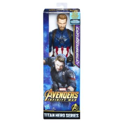 Captain America Titan Hero Power FX Action Figure