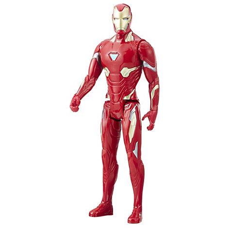 Muñeco acción Iron Man, Titan Hero Power FX
