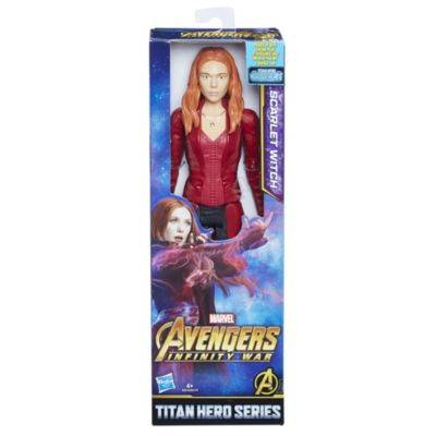 Muñeco acción Bruja Escarlata, Titan Hero Power FX