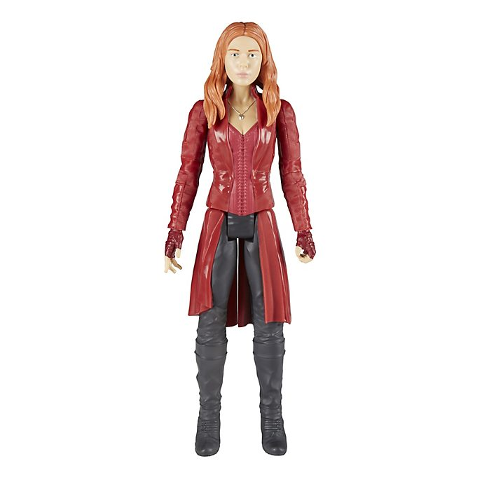 Scarlet Witch Titan Hero Power FX Action Figure