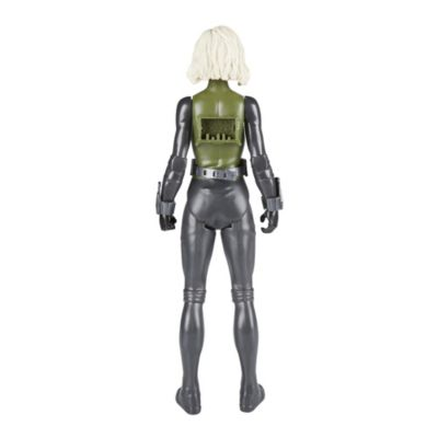 Figurine articulée Titan Hero Power FX Black Widow