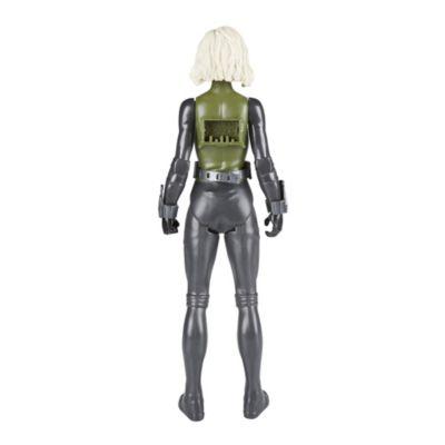 Muñeco acción Viuda Negra, Titan Hero Power FX