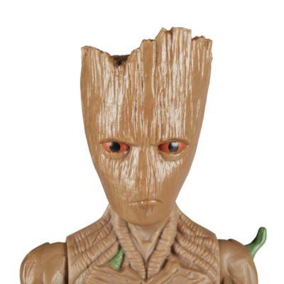 Muñeco acción Groot, Titan Hero Power FX