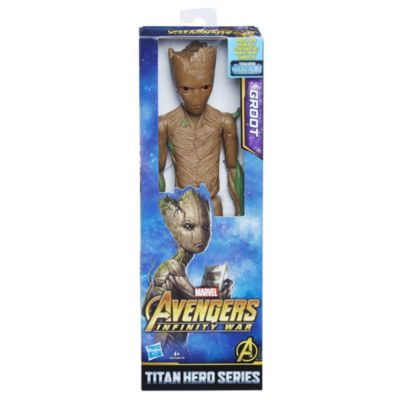 Figurine articulée Titan Hero Power FX Groot