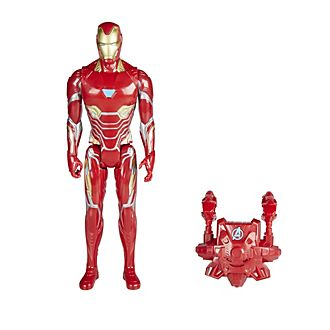 Action figure serie Titan Hero Power FX Iron Man con pacchetto FX Pack