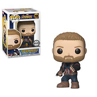 Figura Pop! vinilo Capitán América, de Funko, exclusiva