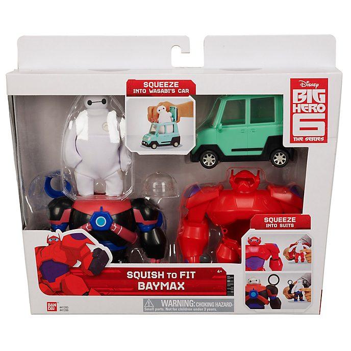 Figurine Baymax Squish-to-Fit, Les Nouveaux Héros: Lasérie