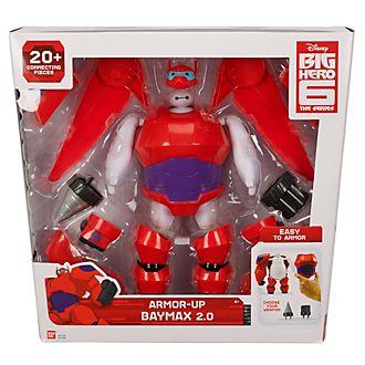 Muñeco Baymax 2.0 con armadura, Big Hero 6: la serie
