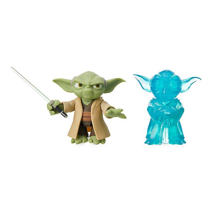 Disney Store Figurine Yoda articulée, Star Wars Toybox