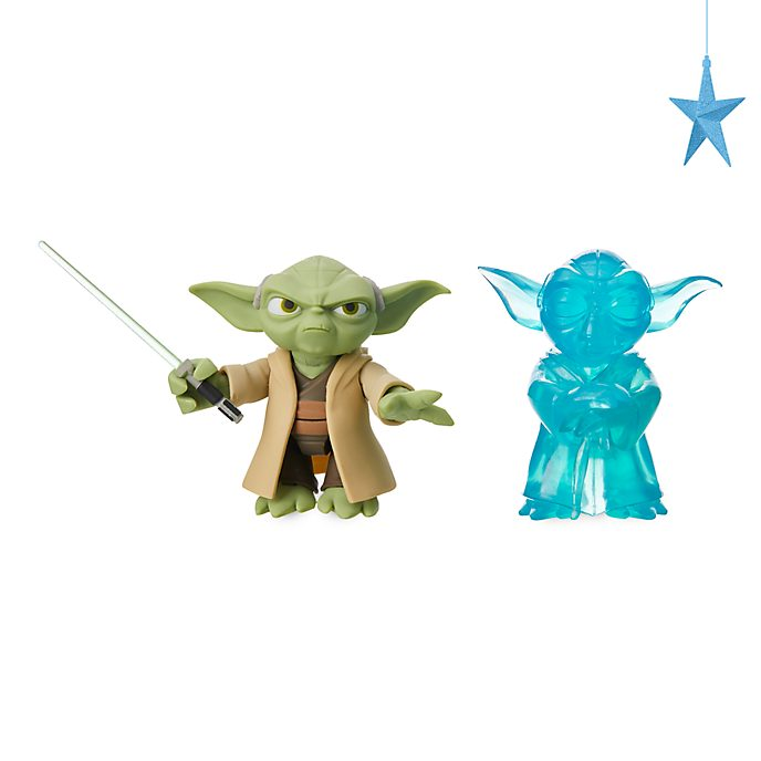 Action Figure Yoda Star Wars Toybox Disney Store
