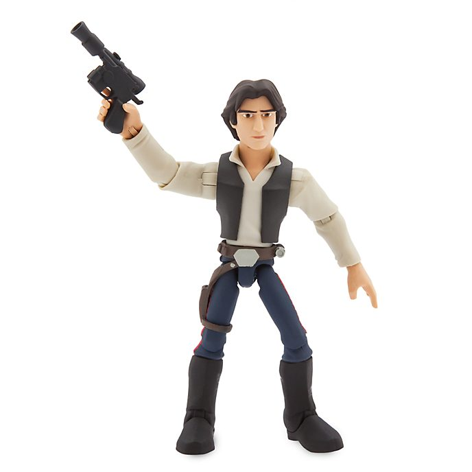 Disney Store Figurine Han Solo articulée, collection Star Wars Toybox