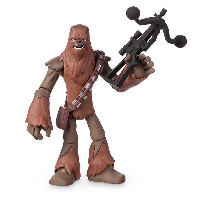 Disney Store Figurine Chewbacca articulée, collection Star Wars Toybox