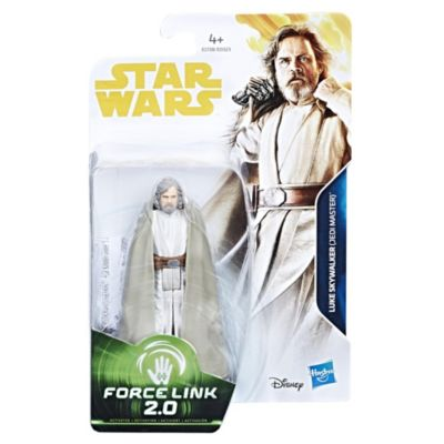 Figura de acción Luke Skywalker de Star Wars Force Link 2.0