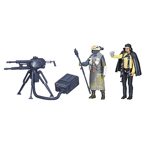 Set de figuras de Lando y guardia de Kessel Star Wars Force Link 2.0