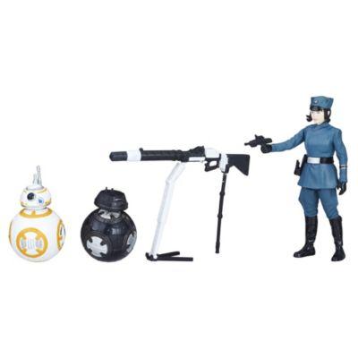 Set de figuras Rose, BB-8 y BB-9 Star Wars Force Link 2.0