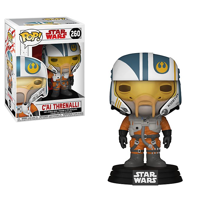Funko Pop! C'ai Threnalli Vinyl Figure, Star Wars
