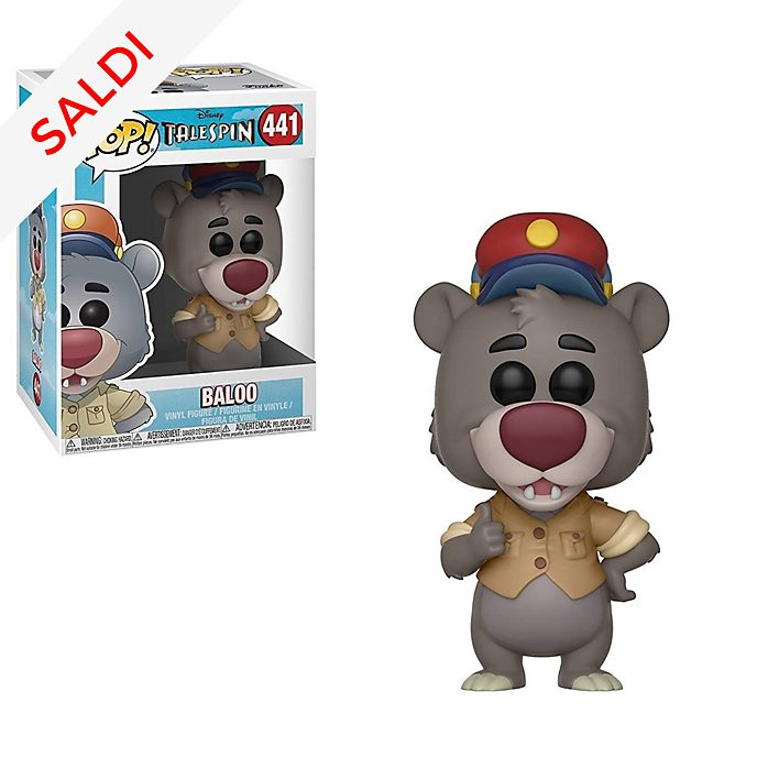 Personaggio in vinile Baloo serie Pop! di Funko, TaleSpin