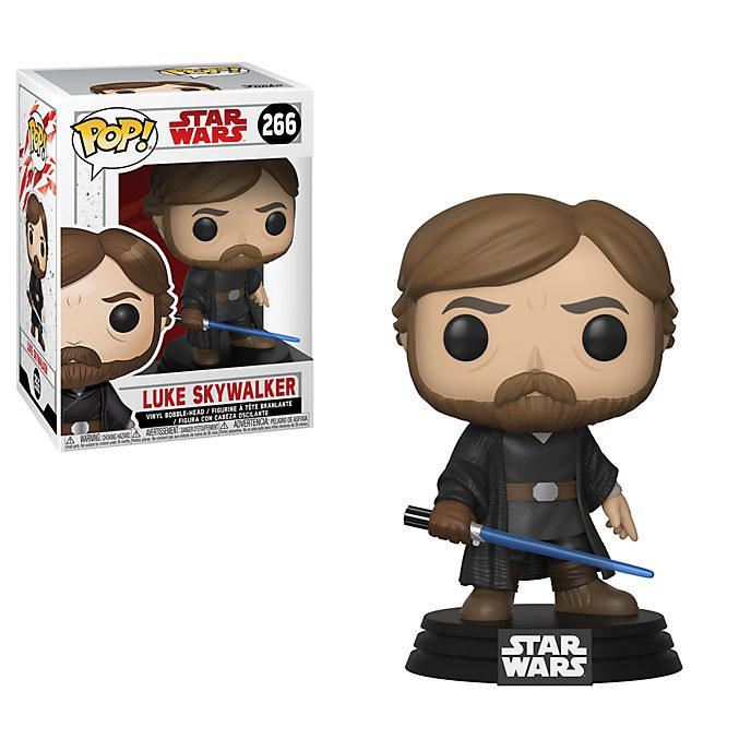 Funko Pop! Figura de vinilo de Luke Skywalker, Star Wars