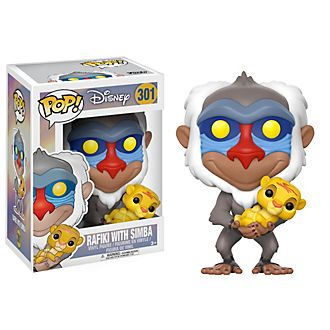 Funko Pop! Rafiki and Simba Vinyl Figure, The Lion King