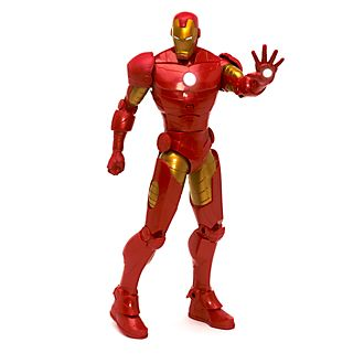 Disney Store Figurine Iron Man articulée et parlante