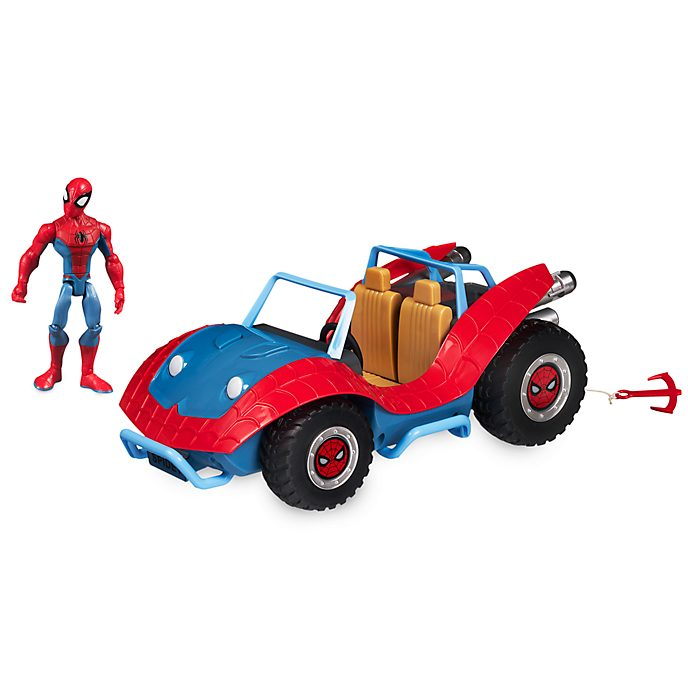 Set da gioco Spider-Man e Spider-Mobile Marvel Toybox Disney Store