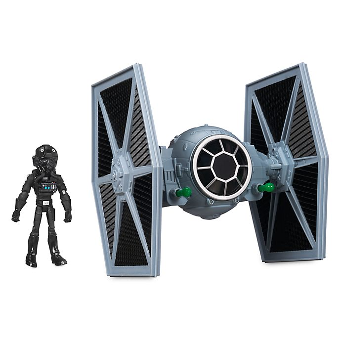 Disney Store Star Wars Toybox TIE Fighter With Pilot