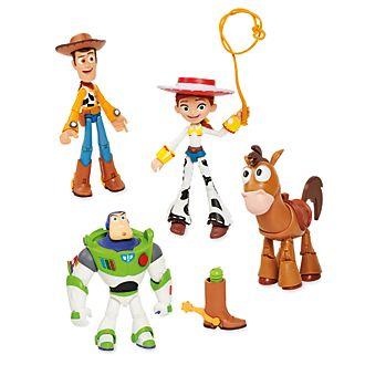 Muñecos acción Toy Story 2, Disney Pixar Toybox, Disney Store (4u.)