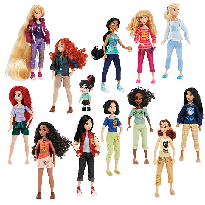 Disney Store Disney Princess Doll Set, Wreck-It Ralph 2