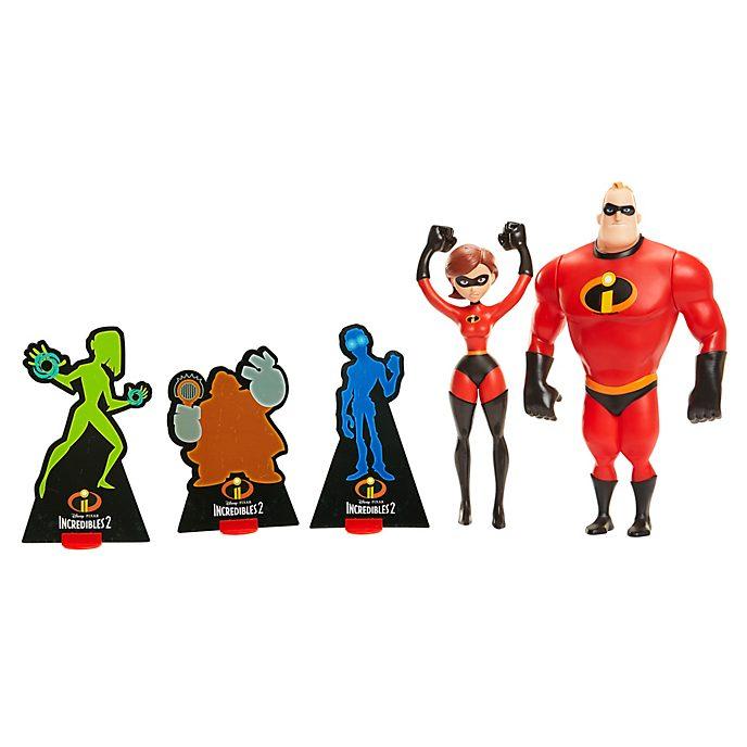 Set muñecos acción Superpareja Los Increíbles 2