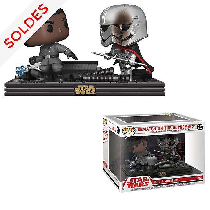 Funko Figurines Capitaine Phasma et Finn en duel Pop!