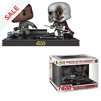 Funko Pop! - Star Wars - Duell von Captain Phasma und Finn