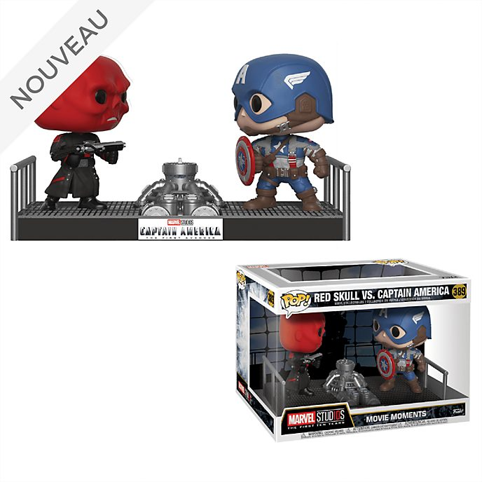 Funko Figurines Crâne rouge contre Captain America Pop! en vinyle