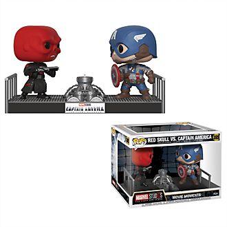 Personaggi in vinile Teschio Rosso contro Capitan America serie Pop! di Funko
